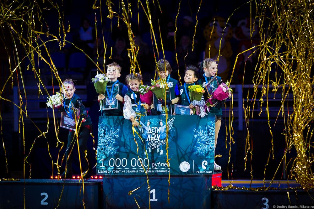 Агнет Латушкина в шоу Дети на льду. Звезды