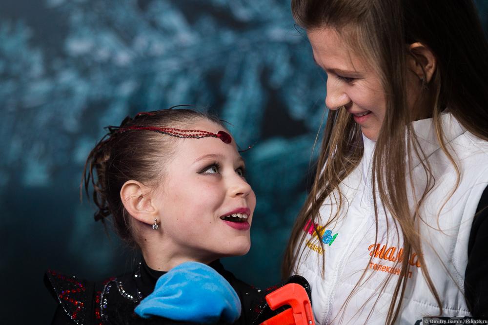 Агнета Латушкина призер шоу Дети на льду. Звезды