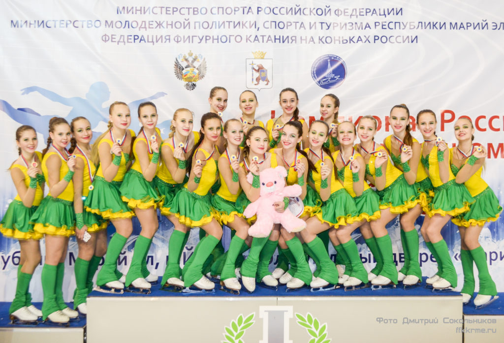 "Команда по синхронному катанию ""Санрайз-2"" г. Санкт-Петербург"